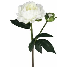 Real Touch Single Peony Rose Stem