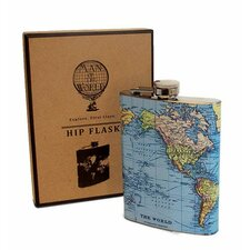 Man of the World Hip Flask
