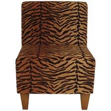 Kareem Armless Slipper Chair by World Menagerie