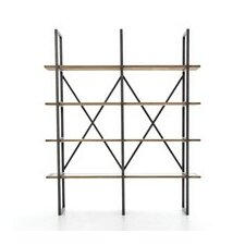 Courtlyn 79 Antique Copper Clad Etagere Bookcase by 17 Stories