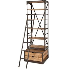 Brodie I 96 Shelving Unit by Mercana