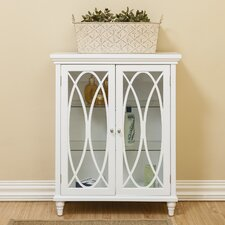 Bourbon Double Door Floor 26 W x 32 H Cabinet by Elegant Home Fashions