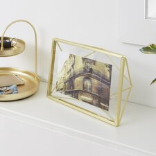 Prisma Brass Picture Frame