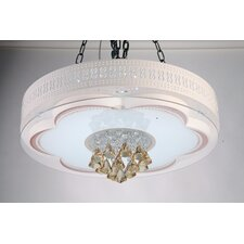 Modern Home Round LED Drum Chandelier
