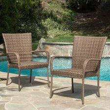 Carrick Outdoor Wicker Armchair (Set of 2)