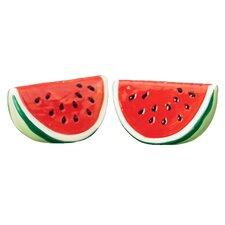 Watermelon 2 Piece Salt and Pepper Sets (Set of 2)