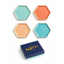 Let's Party Coaster (Set of 4)