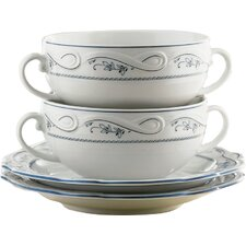 Desiree Aalborg 20 Piece Porcelain Tea Service