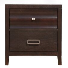 Arnot 2 Drawer Nightstand by Darby Home Co®