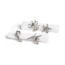 4 Piece Metal Napkin Ring (Set of 4)