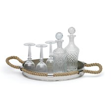 Oval Polished Silver Tray