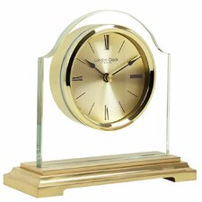 Gold Break Arch Pendulum Mantel Clock