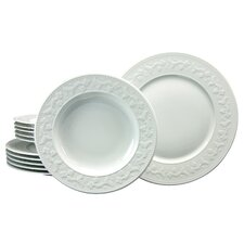 Silvia 12 Piece Dinnerware Set, Service for 6