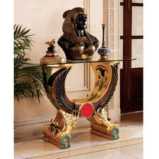 Egyptian Wings of Horus Grand Altar Console Table by Design Toscano
