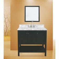 hampton bay 36 single bathroom vanity with mirror - Bathroom Vanities Phoenix Az