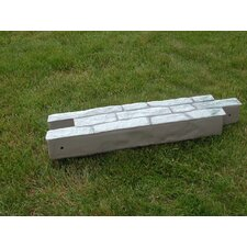 RockLock Straight Wall Edging (Set of 2)