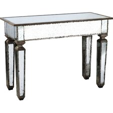 Naturita Mirror Console Table by House of Hampton
