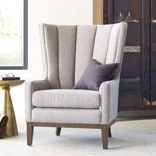 Mckayla Channelled Wing back Chair by Laurel Foundry Modern Farmhouse