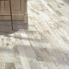 "Cashe Hills 8"" x 47"" x 7.87mm Pine Laminate in White"