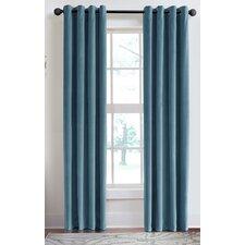 Velvet Soft Luxury Grommet Single Curtain Panel