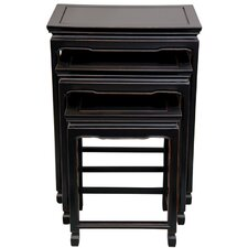 3 Piece Nesting Tables by Oriental Furniture