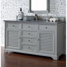 "Savannah 60"" Double Bathroom Vanity Base"