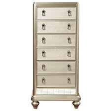 Sirena Lingerie 6 Drawer Chest by House of Hampton