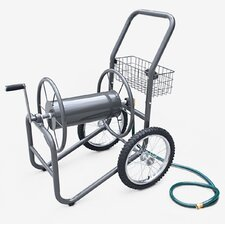 Industrial 2 Wheel Steel Hose Reel Cart