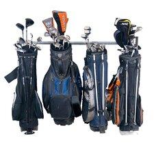 6 Golf Bag Large Wall Mounted Sports Rack