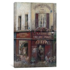 'Artist's Quarters' Graphic Art Print on Canvas