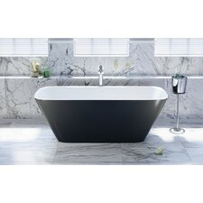 "Arabella Freestanding 68.5"" L x 30.25"" W Soaking Bathtub"