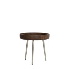 Caluma Wood End Table by Light & Living