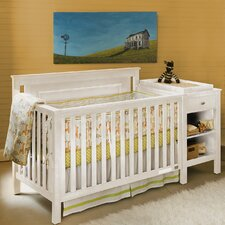 Cogan 2 Piece Convertible Crib and Changing Table Set by Lolly & Me