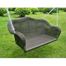 Belle Isle Wicker Porch Swing