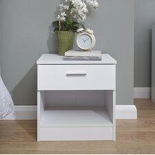 Ehmann 1 Drawer Bedside Table