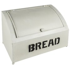 Rustic Tin Bread Bin