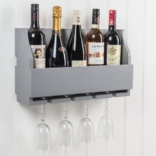 Lewiston Wine Bottle and Glass Rack