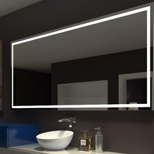 Harmony Illuminated Bathroom / Vanity Wall Mirror by Paris Mirror