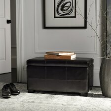 Dana Leather Ottoman by Zipcode Design