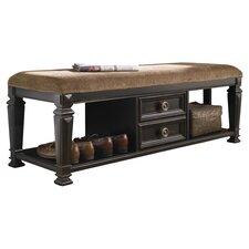 Barnys Wood Storage Entryway Bench by Darby Home Co
