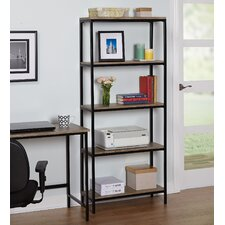 Forteau 5 Tier 66 Standard Bookcase by Laurel Foundry Modern Farmhouse
