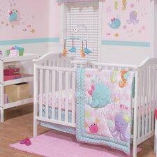 Sea Sweetie 3 Piece Crib Bedding Set