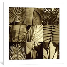 'Tropical Leaves I' Graphic Art Print on Canvas