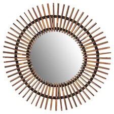 Beveled Steel Accent Mirror
