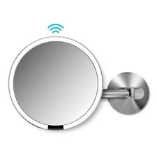 Sensor LED Makeup Wall Mirror by simplehuman