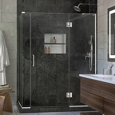Unidoor-X 60 x 34.38 x 72 Rectangle Hinged Shower Enclosure by DreamLine