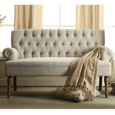 Barryknoll Tufted Upholstered Loveseat by Charlton Home®