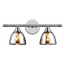 Petra 2-Light Vanity Light by Latitude Run