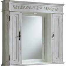 """Milan 42"""" x 38"""" Surface Mount Medicine Cabinet with LED Lighting"""