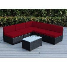 Mezzo 6 Piece Deep Seating Group with Cushion